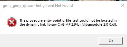 Gimp version questions