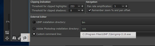 Opening RAW file formats in gimp 2 10